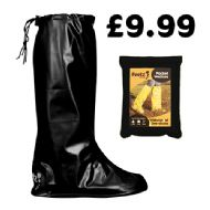 Black Pocket Festival Wellies